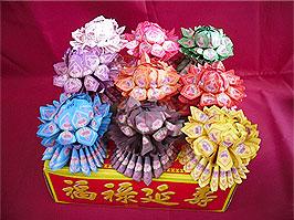 蓮花 紙 製造 批發 歡迎 來電 訂購 九品 蓮花 壽生